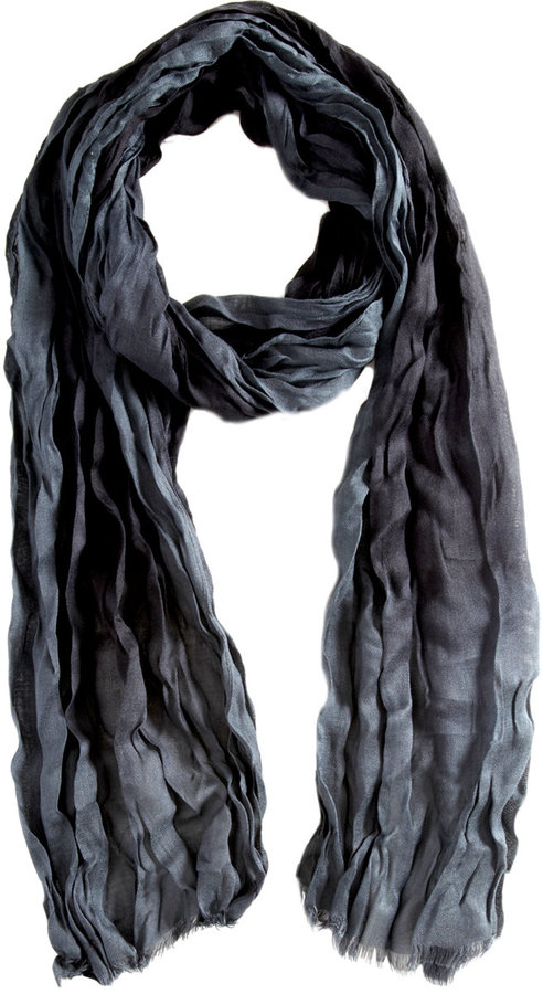 John Varvatos Hand Painted Ombre Scarf