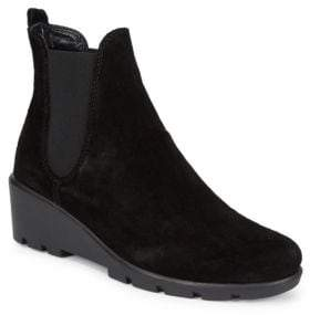 The Flexx Slimmer Suede Booties