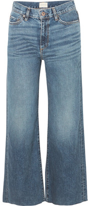Simon Miller W006 Musa Mid-rise Wide-leg Jeans - Dark denim