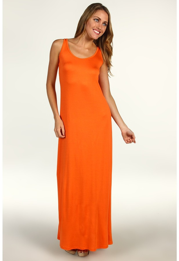 Christin Michaels - Hafwen Maxi Dress (Orange) - Apparel