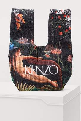 Kenzo Printed flowers shopping bag