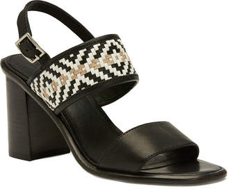 Frye Women's Amy Woven Leather Sandal