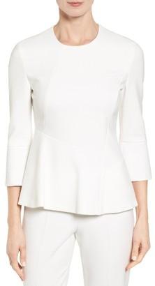 Women's Boss Itanea 1 Peplum Top $285 thestylecure.com