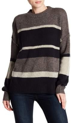 360 Cashmere Abbagail Stripe Knit Cashmere Sweater