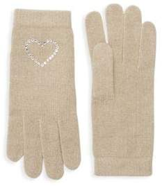 Portolano Crystal-Embellished Gloves
