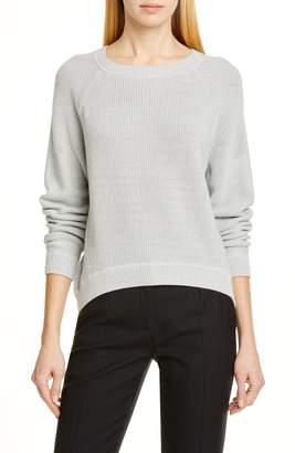 Brochu Walker Johan High Low Cotton Sweater a37991cb8