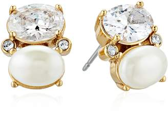 Kate Spade Drop Cream Stud Earrings
