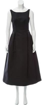 Isaac Mizrahi Sleeveless Midi Dress