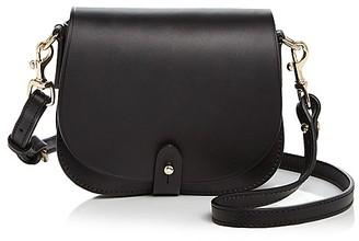 Celine Lefebure Camille Mini Leather Saddle Bag $395 thestylecure.com