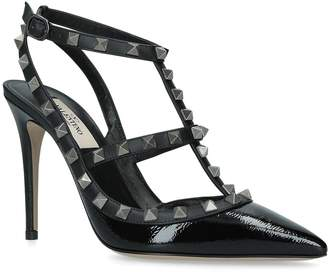 Valentino Leather So Noir Pumps 100