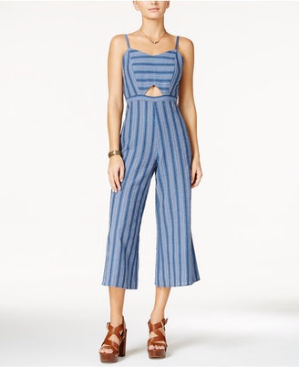 American Rag Cutout Wide-Leg Jumpsuit, Only at Macy's $69.50 thestylecure.com