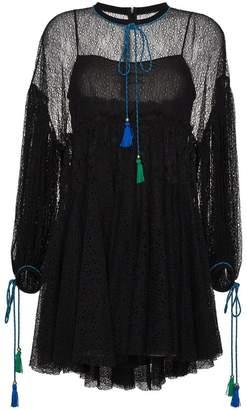 Philosophy di Lorenzo Serafini lace mini dress