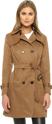 Sincerely Jules Camille Trench Coat $169 thestylecure.com