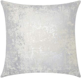 Nourison Mina Victory Luminecence Distressed Metallic Throw Pillow