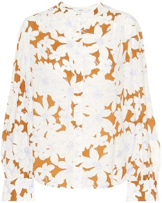 Vince Floral blouse