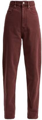 Etoile Isabel Marant Forsy high-rise boyfriend jeans
