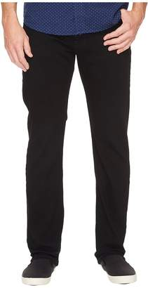 Nautica Straight Fit Stretch in Black Ink Wash Men's Jeans