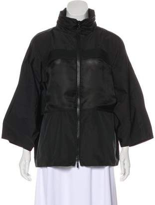 Moncler Gamme Rouge Hooded Lightweight Jacket