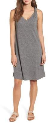 Caslon Knot Strap Knit Swing Dress (Regular & Petite)