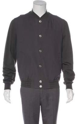 Kris Van Assche Knit Bomber Jacket grey Knit Bomber Jacket