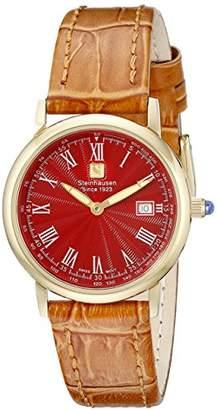 BEIGE Steinhausen Women's WWL493GRTA Dunn Luxe Analog Display Swiss Quartz Watch