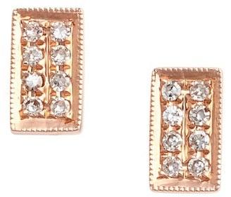 Women's Dana Rebecca Designs 'Katie' Diamond Stud Earrings $385 thestylecure.com