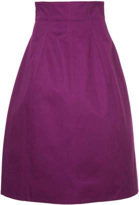 Le Ciel Bleu high waisted flared skirt