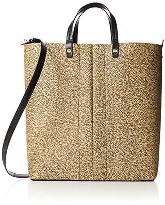 Metropolitan Medium, Womens Shoulder Bag, Verde (Safari), 36x25x16 cm (W x H L) Borbonese