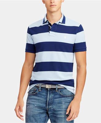 Polo Ralph Lauren Men Classic Fit Striped Cotton Polo