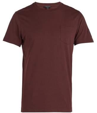 Belstaff Thom Cotton T Shirt - Mens - Burgundy