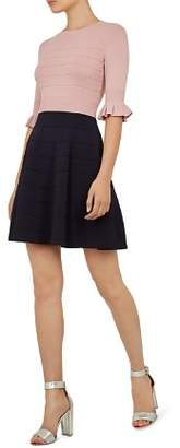 Ted Baker Dyana Color-Block Knit Dress