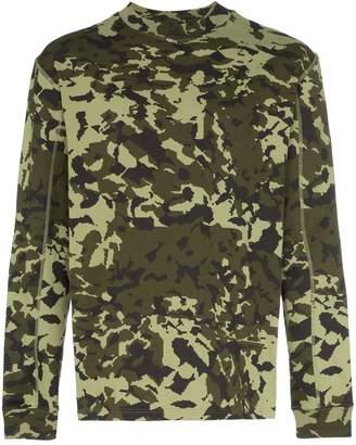 Nike X1017 ALYX 9SM MMW camouflage T-shirt
