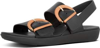 FitFlop Annelia Buckle Leather Back-Strap Sandals