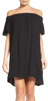 Women's French Connection Evening Dew Off The Shoulder Dress $128 thestylecure.com