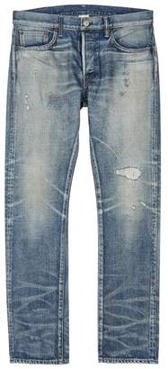Co Fabric Brand & Fabric-Brand & Zamir Slim-leg Selvedge Jeans