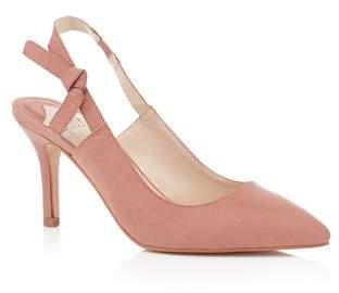 b87533c3271 Next Womens Faith Slingback Kitten Heel Court Shoes