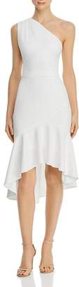 Aqua One-Shoulder Dress - 100% Exclusive