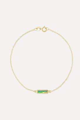 Jennifer Meyer 18-karat Gold Opal Bracelet