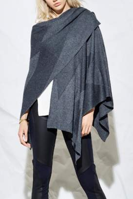 Heather Stria Poncho