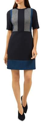 Hobbs London Bea Color-Block Dress