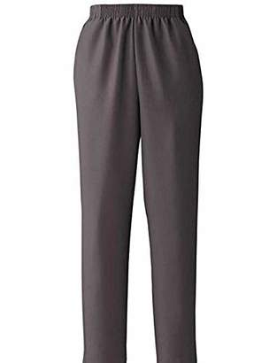 Mirry Women's Gaberdines Pants Comfort Elastic-Waist Pull-on Jeans