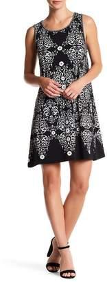 Max Studio Sleeveless Shift Dress