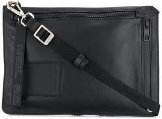 Neil Barrett zipped messenger bag