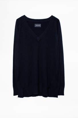 85942f3d1f at Zadig   Voltaire · Zadig   Voltaire Alexa Patch Cachemire Sweater