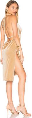 LIONESS Vegas Velvet Mini Dress