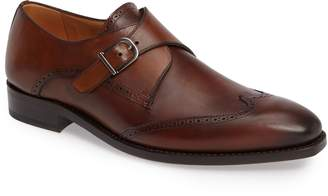 Mezlan IMPRONTA by G121 Wingtip Monk Strap Shoe