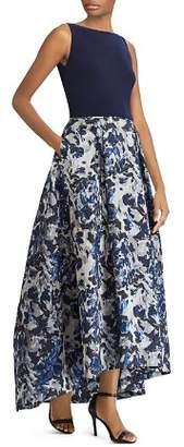 Ralph Lauren Floral Jacquard Ball Gown