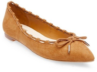 dv Women's dv Pearce Pointed Toe Ballet Flats with a Bow $24.99 thestylecure.com