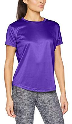 Ladies Gym T-Shirt Running Breathable Fitness Gym Sports Training Exercise TOP (, 16)