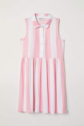 H&M Jersey Dress - White
